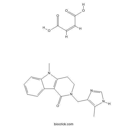 Alosetron (Z)-2-butenedioate