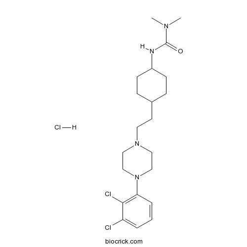 Cariprazine hydrochloride