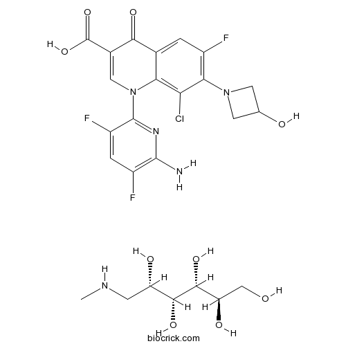 Delafloxacin meglumine