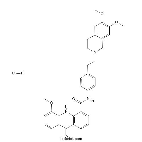 Elacridar hydrochloride