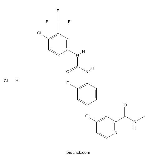 Regorafenib hydrochloride