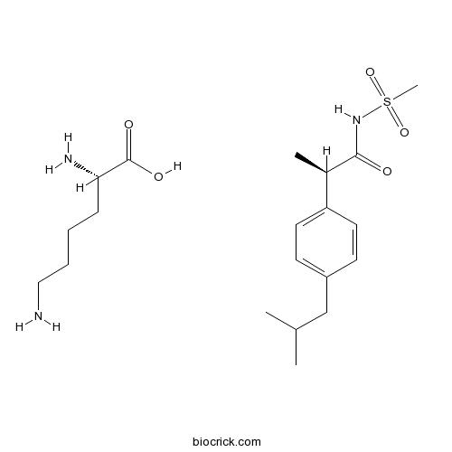 Reparixin L-lysine salt