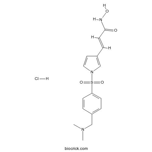 Resminostat hydrochloride