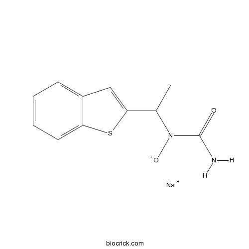 Zileuton sodium