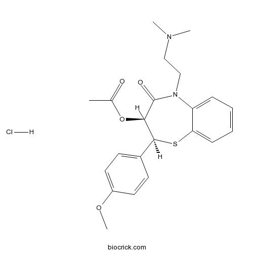 Diltiazem HCl | CAS:33286-22-5 | Ca2+ channel blocker (L