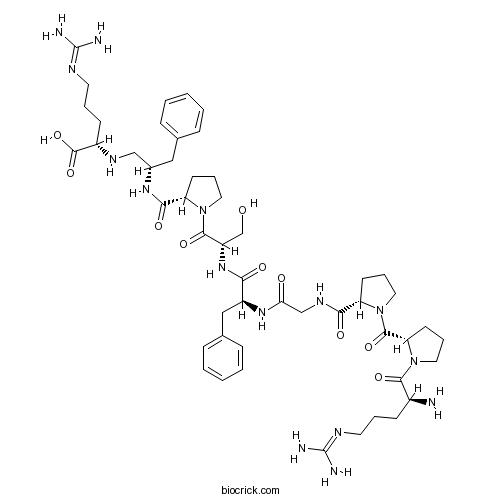 [Phe8Ψ(CH-NH)-Arg9]-Bradykinin