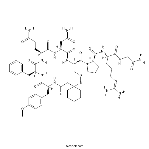 (d(CH2)51,Tyr(Me)2,Arg8)-Vasopressin