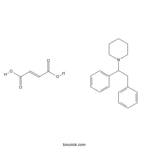 (±)-1-(1,2-Diphenylethyl)piperidine maleate