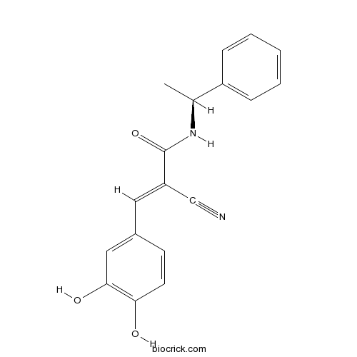 Tyrphostin B44, (+) enantiomer