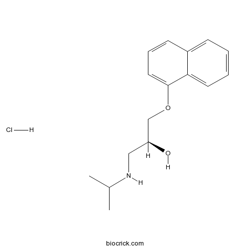 (S)-(-)-Propranolol hydrochloride