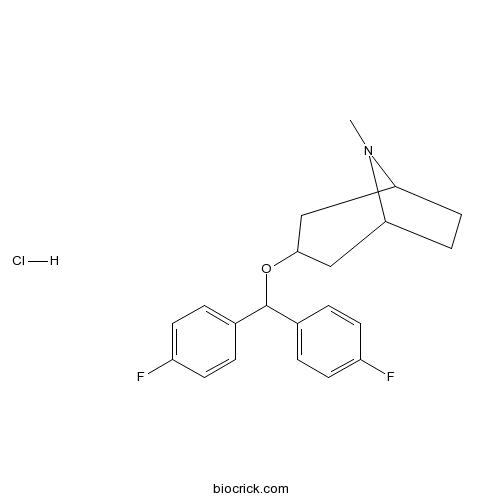 3?-Bis-(4-fluorophenyl) methoxytropane hydrochloride