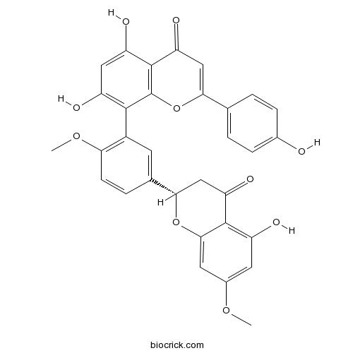 2,3-Dihydroamentoflavone 7,4'-dimethyl ether