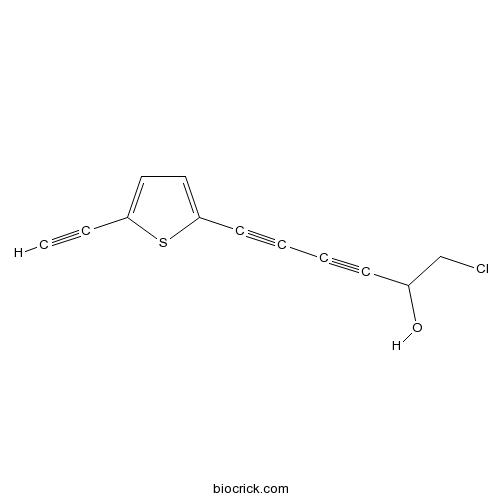 1-chloro-6-(5-ethynylthiophen-2-yl)hexa-3,5-diyn-2-ol