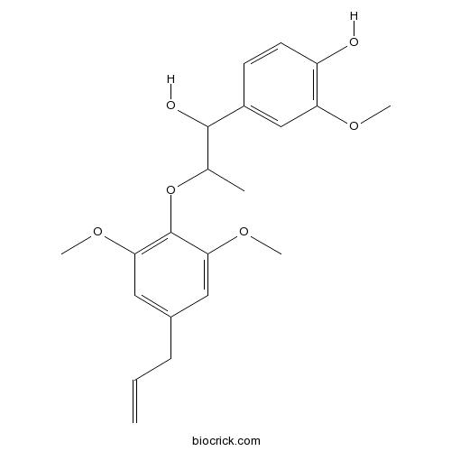 1-(3,4-dimethoxyphenyl)-2-(4-allly-2,6-dimethoxyphenoxy)propan-1-ol