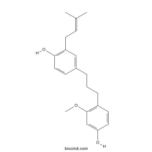 1-(4-Hydroxy-2-methoxyphenyl)-3-(4-hydroxy-3-prenylphenyl)propane