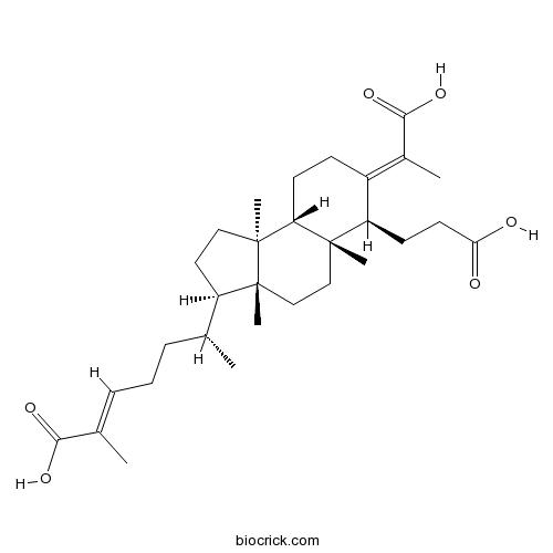 3,4-Secocucurbita-4,24-diene-3,26,29-trioic acid