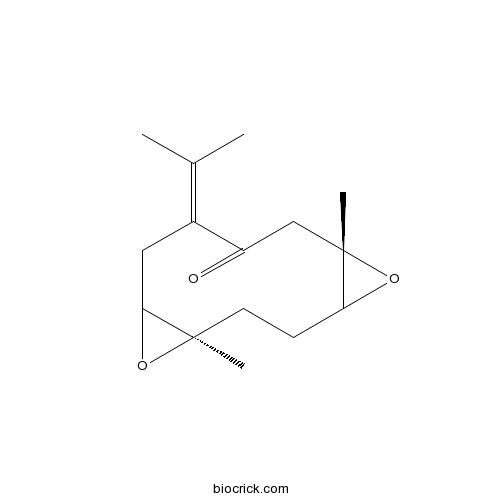 1,10:4,5-Diepoxy-7(11)-germacren-8-one