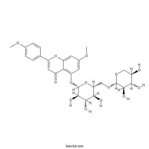 7,4'-Di-O-methylapigenin 5-O-xylosylglucoside