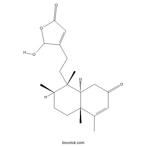 16-Hydroxy-2-oxocleroda-3,13-dien-15,16-olide