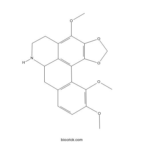1,2-Methylenedioxy-3,10,11-trimethoxynoraporphine