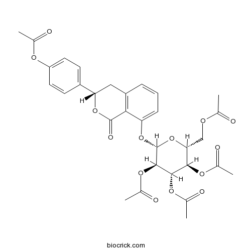 (3S)-Hydrangenol 8-O-glucoside pentaacetate
