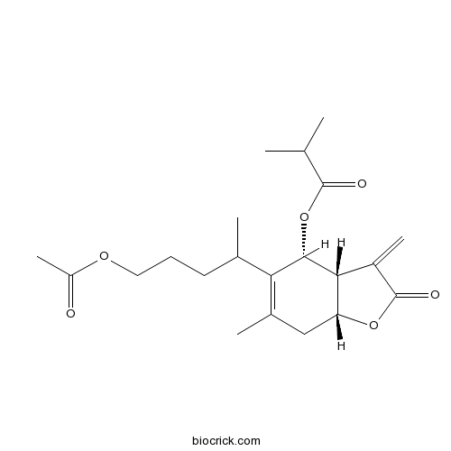 1-O-Acetyl-6beta-O-Isobutyrylbritannilactone