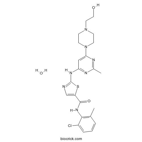Dasatinib monohydrate