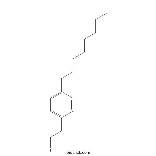 1-(2-iodoethyl)-4-octylbenzene