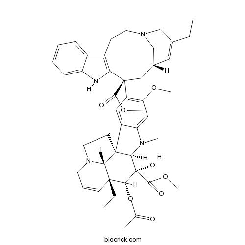 3′,4′‐アンヒドロビンブラスチン   CAS:38390-45-3   BioCrick