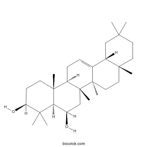 12-Oleanene-3,6-diol
