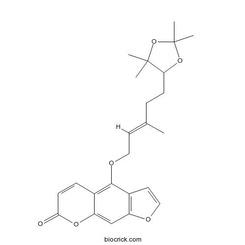 6',7'-Dihydroxybergamottin acetonide