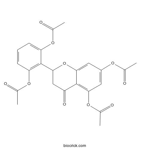 2',5,6',7-Tetraacetoxyflavanone