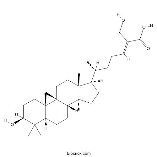 27-Hydroxymangiferolic acid