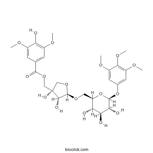 5''-O-Syringoylkelampayoside A