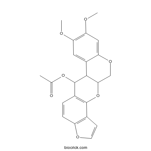12-Deoxo-12alpha-acetoxyelliptone