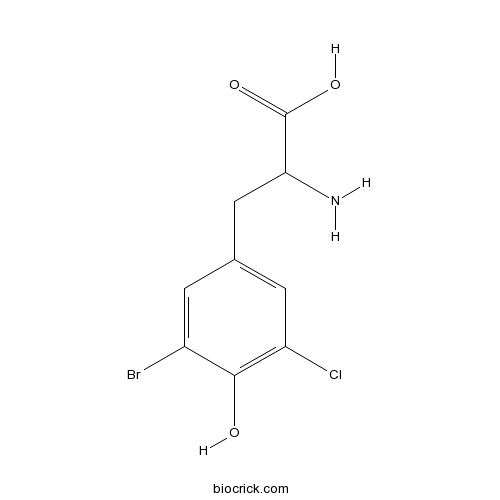 2-amino-3-(3-bromo-5-chloro-4-hydroxyphenyl)propanoic acid